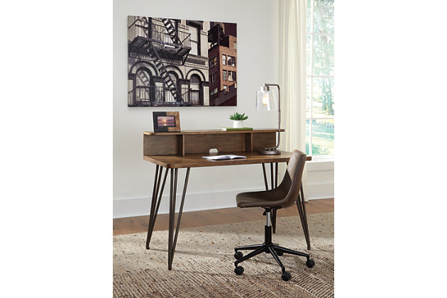 "Fullinfurst 48"" Home Office Desk and Hutch, , large"