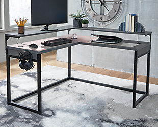 Lynxtyn Home Office L-Desk, , rollover