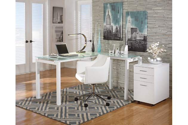 Ashley Furniture Signature Design Baraga Home Office Desk