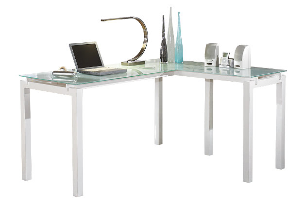 home office desk white. Baraga 61\ Home Office Desk White