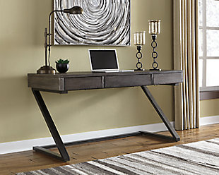 "Harpoli 60"" Home Office Desk, , rollover"