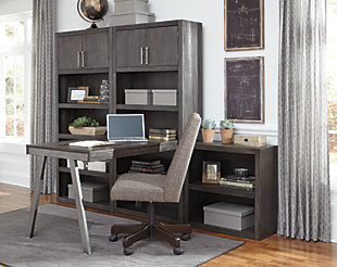 Raventown Bookcase Desk Return, , large