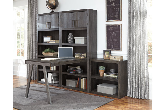 "Raventown 74"" Bookcase, , large"