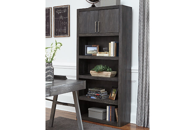 Raventown Home Office Desk and Storage, , large