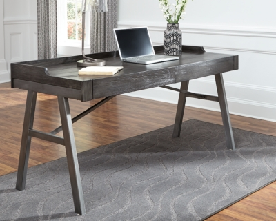 Office Desk Grayish Brown Home Product Photo 2482
