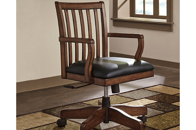 woodboro home office desk chair | ashley furniture homestore