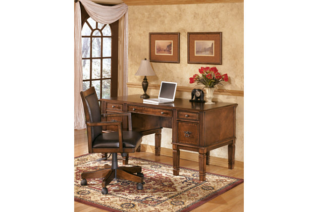 hamlyn home office desk chair | ashley furniture homestore