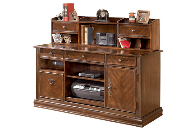 Hamlyn Credenza with Short Hutch, , large