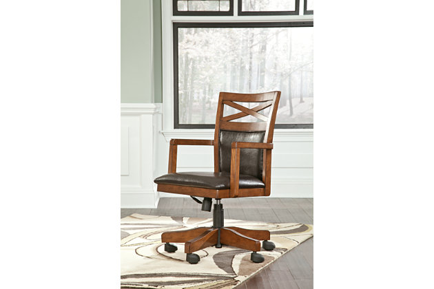 Optimal Burkesville Home Office Desk Chair Product Photo