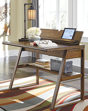 Birnalla 42  Home Office Desk. Desks   Ashley Furniture HomeStore