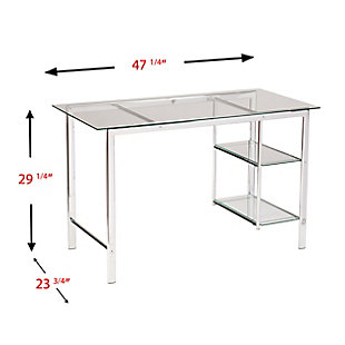 Stella Chrome Desk, , large