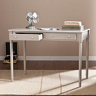 Clara 2-Drawer Writing Desk, , rollover