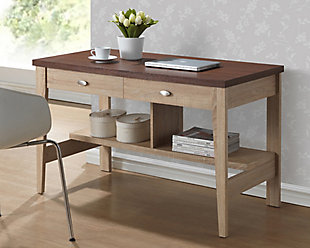 Two Drawer Writing Desk, , rollover