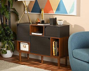 Anderson Mid-century Retro Modern Sideboard Storage Cabinet, , rollover