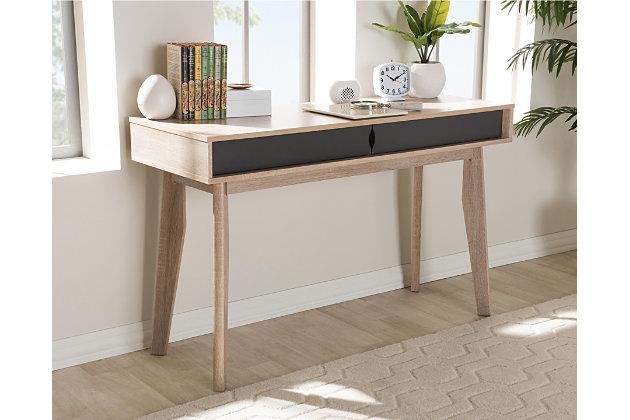 Fella Mid-Century Modern Study Desk, , large