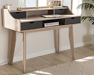 Fella Mid-Century Modern Study Desk, , rollover