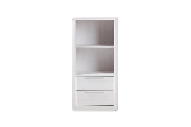 Carlingford 2-Drawer Bookcase, , large