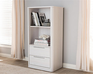 Carlingford 2-Drawer Bookcase, , rollover