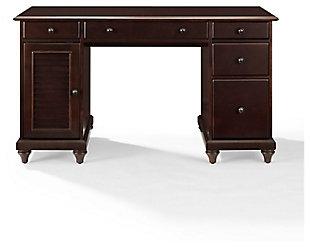 Palmetto Computer Desk, Espresso, large