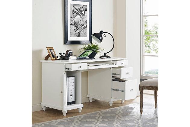 Palmetto Computer Desk, , large