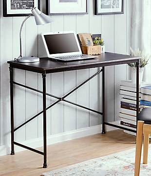 Compact Home Office Writing Desk, , rollover