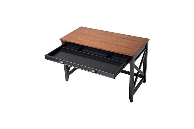 One Drawer Writing Desk, , large