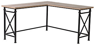 L Shaped Corner Desk, , large
