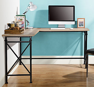 L Shaped Corner Desk, , rollover