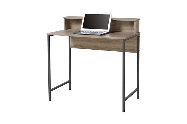 Computer Desk with Hutch, , large