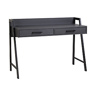 Writing Desk with Two Drawers, , large