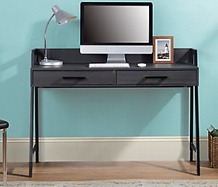 Writing Desk with Two Drawers, , rollover