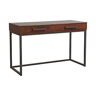 Computer Desk with Two Drawers, , large