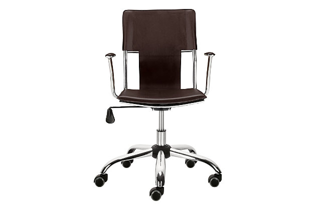 Sling Seat Home Office Chair, , large