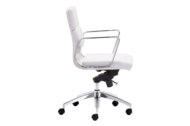 Low Back Engineer Home Office Chair, , large