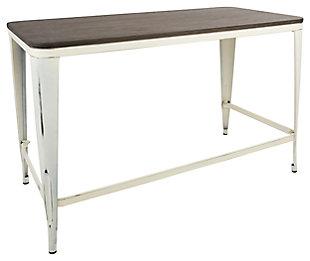 Metal Frame Home Office Desk, , large