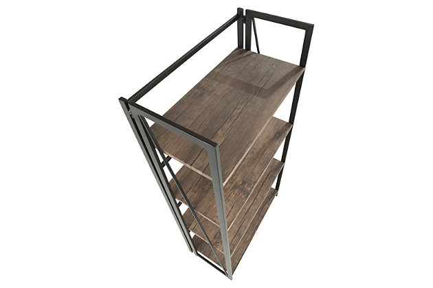 Steel Bookcase, , large