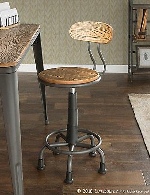 Industrial Swivel Task Chair, , rollover