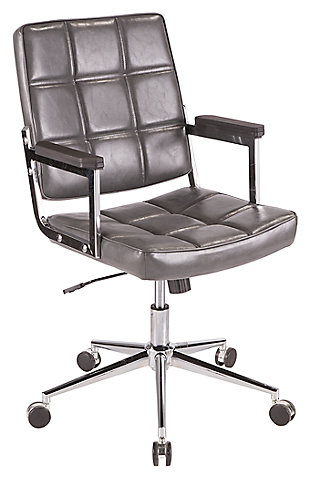 Tufted Home Office Chair, , large