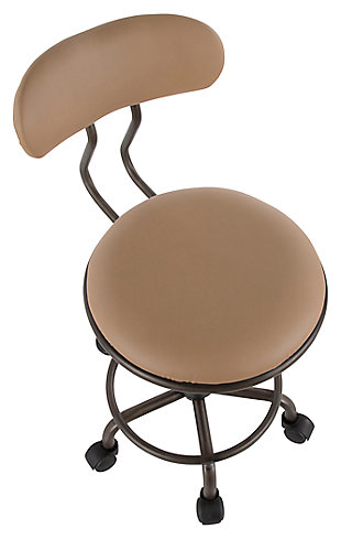 Industrial Swivel Task Chair, , large