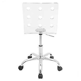 Adjustable Swivel Home Office Chair, , large