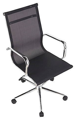 Mesh Swivel Home Office Chair, , rollover