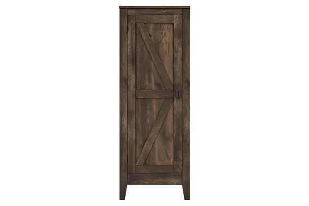 Rustic Storage Cabinet Ashley, Ashley Furniture Armoire Top