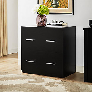 Two Drawer Lateral File Cabinet, , large