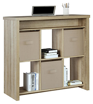 Six Cubbie Standing Desk, , large