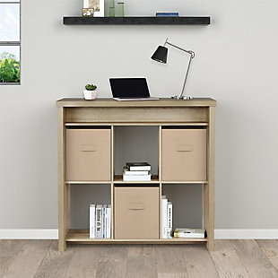 Six Cubbie Standing Desk, , large