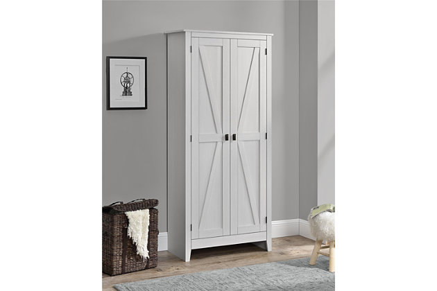 """Rustic 31.5"""" Wide Storage Cabinet, , large"""