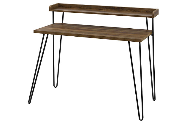 Retro Desk with Riser, , large