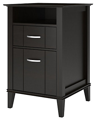 Two Drawer File Cabinet, , large