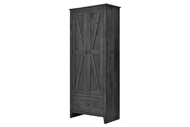 Dhp Rustic 30 Wide Storage Cabinet