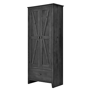 "Rustic 30"" Wide Storage Cabinet, , rollover"